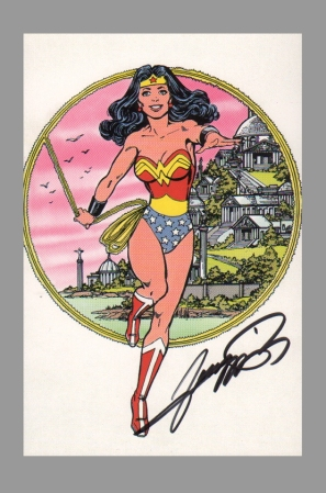 george-perez-justice-league-of-america-jla-art-post-card-signed-autograph-wonder-woman